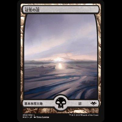 画像1: 冠雪の沼/Snow-Covered Swamp [MH1]